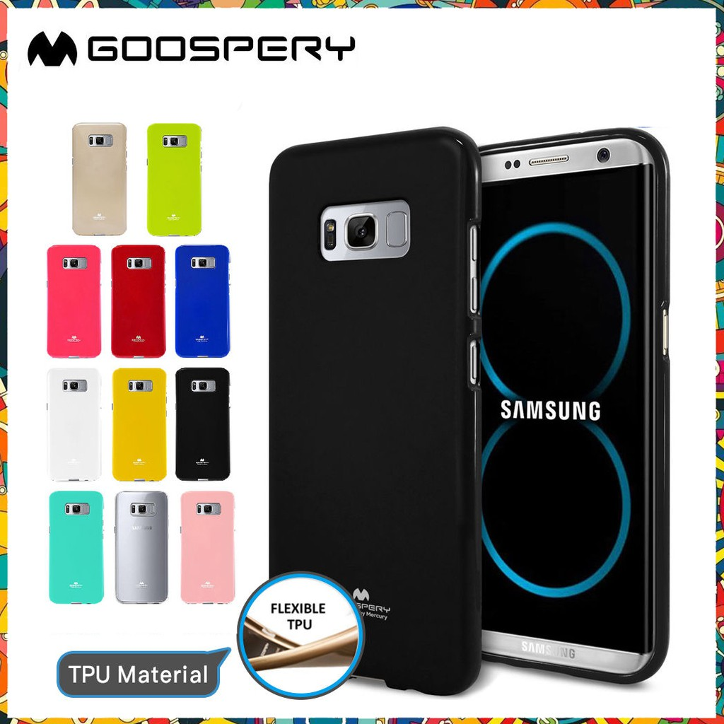 Samsung Galaxy S8 Plus - เคส TPU Mercury Jelly Case (GOOSPERY) แท้