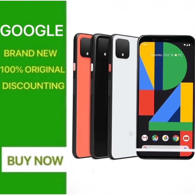 แบรนด์ใหม่ Google Pixel 4 XL 6.3 นิ้ว OCTA Core 6GB RAM 64GB ROM ซิมเดี่ยว 4G LTE Android โทรศัพท์มือถือสมาร์ทโฟน