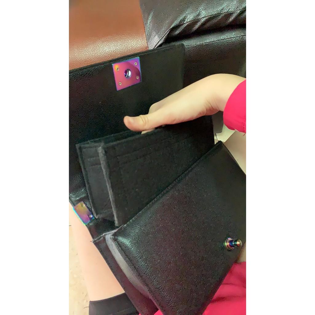"""[พร้อมส่ง ดันทรงกระเป๋า] Chanel Boy --- 8"""" 10"""" 11"""" 13"""" จัดระเบียบ และดันทรงกระเป๋า 6Rvr&**&"""