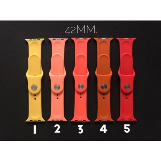 สาย applewatch แท้ สาย applewatch 🔥พร้อมส่งขนาด42🔥สาย Apple Watch ขนาด42 หลายสี เลือกสีเมนูด้านล่างได้เลยคะใช้ได้ทั้ง3