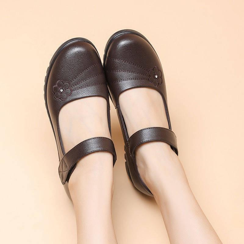 รองเท้าคัชชู รองเท้าผู้หญิง ร้องเท้า ⊿รองเท้าฤดูใบไม้ผลิและฤดูใบไม้ร่วง, เด็กอ่อน, หนังอายุเก่า, รองเท้าเก่า, รองเท้าผู้