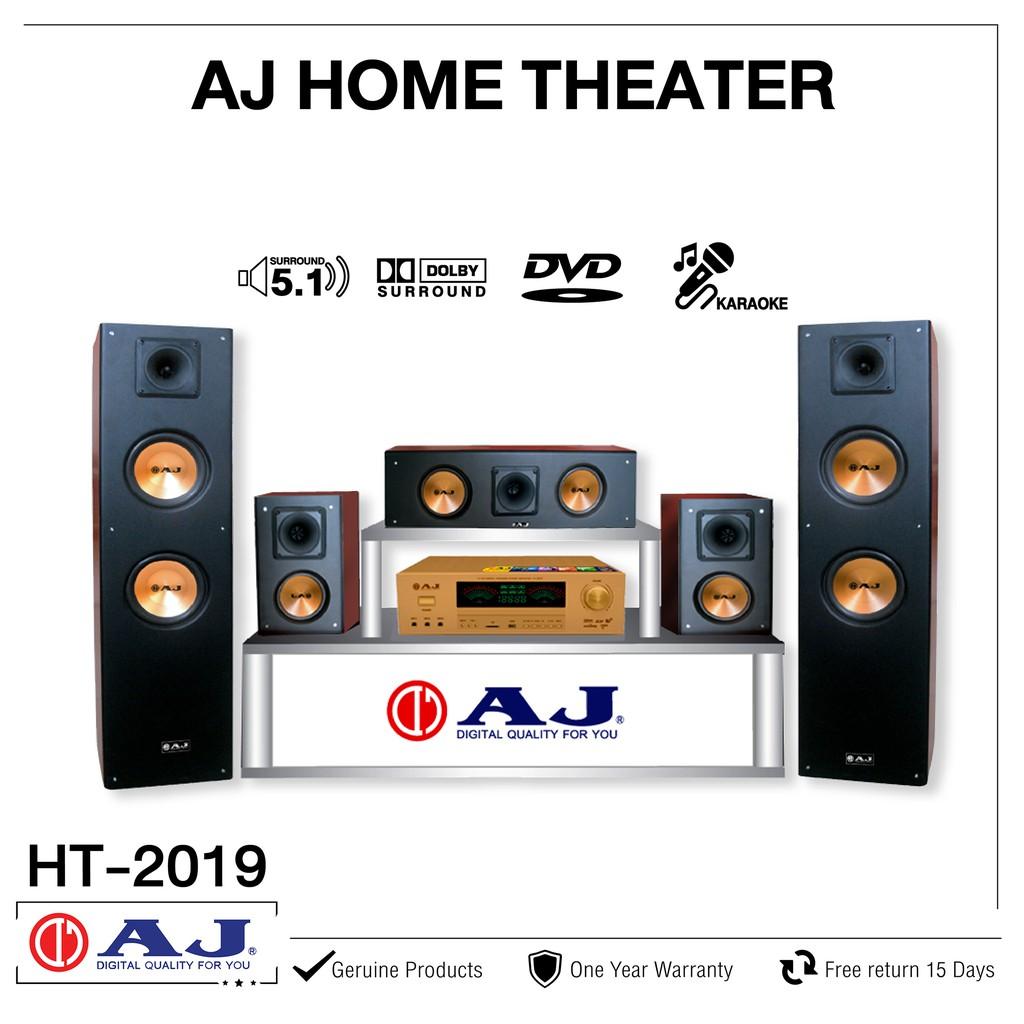 AJ ชุดโฮมเธียเตอร์ รุ่น HT-2019ระบบ 5.1CH 5000W