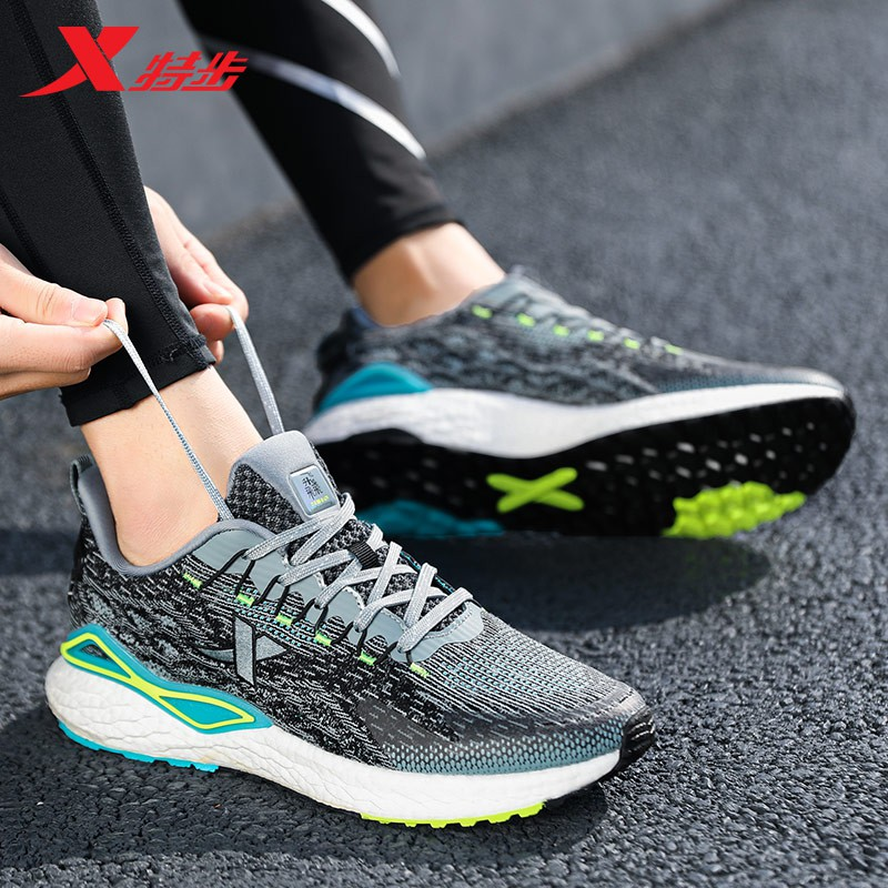 Xtep ใหม่รองเท้าผู้ชาย160X แบรนด์ที่มีชื่อเสียงของแท้เรือธงตาข่ายผู้ชายรองเท้าวิ่งรองเท้ากีฬาการดูดซึม shock ปั่น7รุ่น