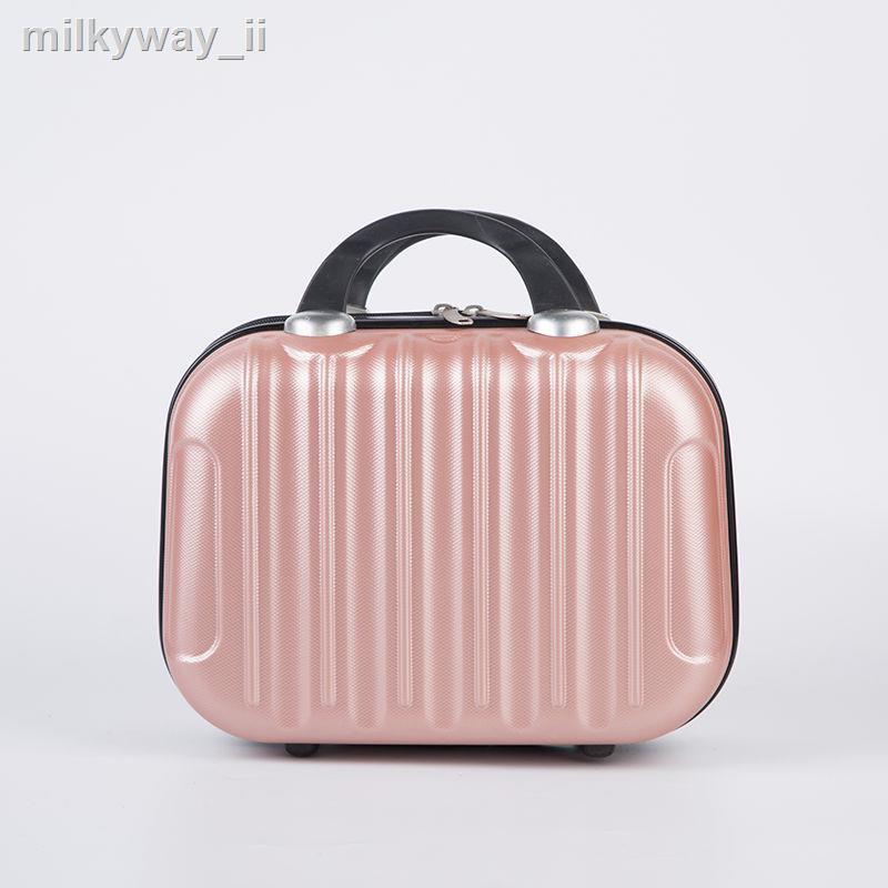 ✐กระเป๋าเดินทาง 14 นิ้ว 16 นิ้วมัลติฟังก์ชั่นกันน้ำกระเป๋าเครื่องสำอางกระเป๋าเดินทางมินิกระเป๋าเครื่องสำอางกระเป๋าเดินท