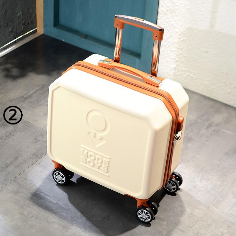 กระเป๋าเดินทางล้อลากขนาดมินิ 16 นิ้วแบบพกพา
