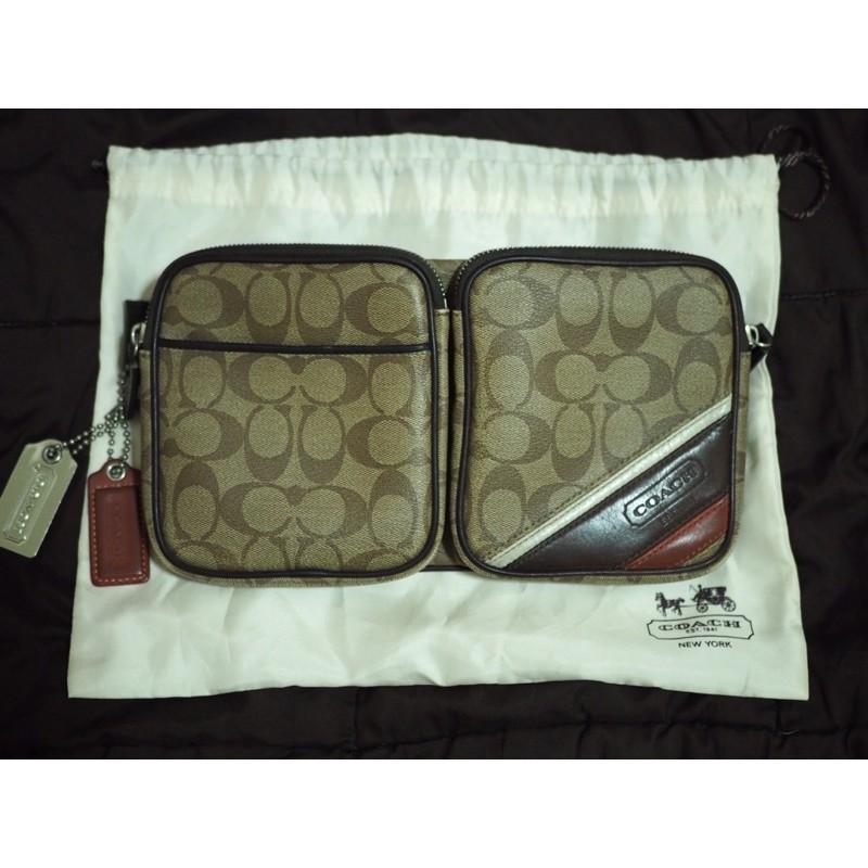 กระเป๋าคาดอก Coach แท้พร้อมถุงผ้า