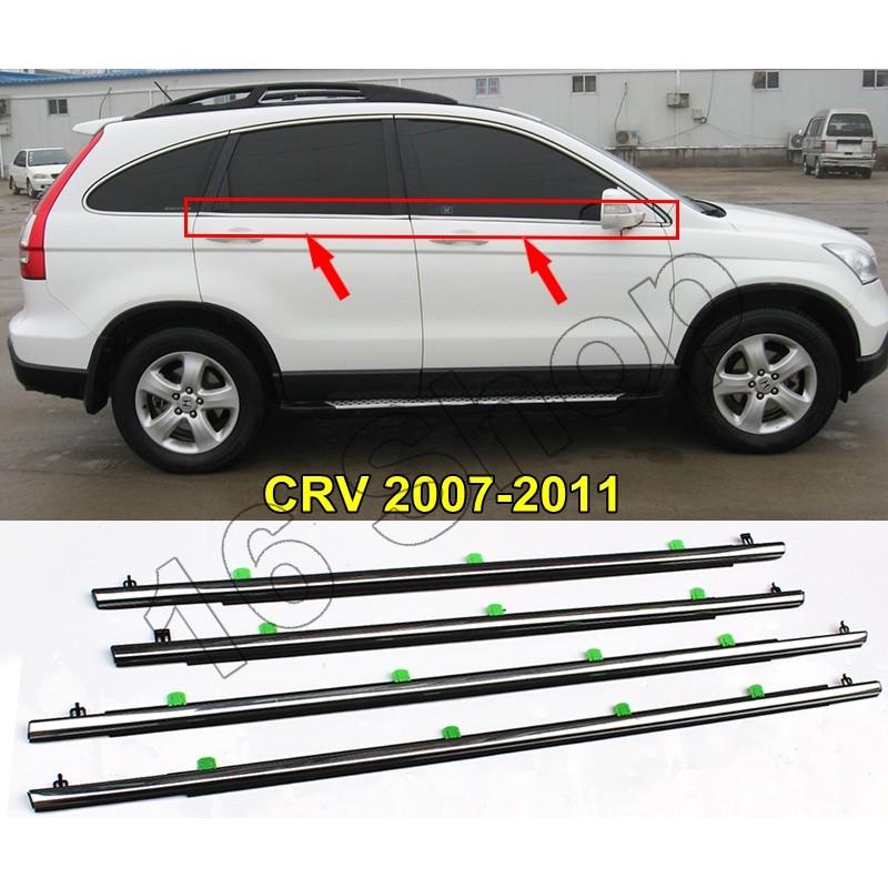 Honda Crv G3 2007-2011 คิ้วรีดน้ำ ⚡️ ยางรีดน้ำ ⚡️ คิ้วรีดน้ำขอบกระจก