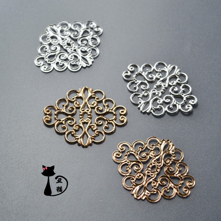 Spiral Metal 20mm Lapel Pin