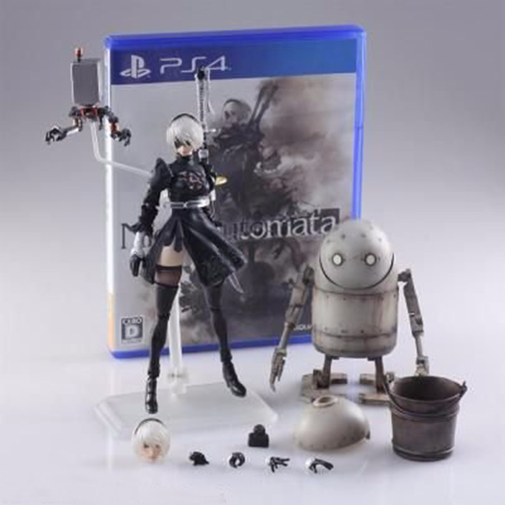 Garage Kit Automatic Humanoid Automata Character Figure With Two Balls