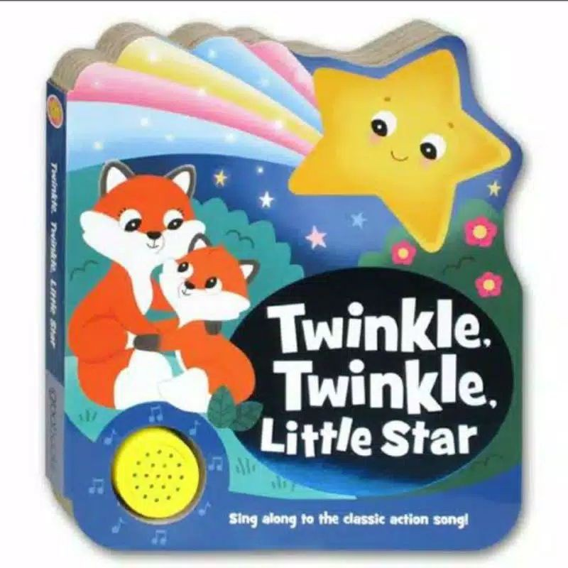 Twinkle Twinkle Little Star Melody Sound Board Book. Imported Children 's Books wSXx
