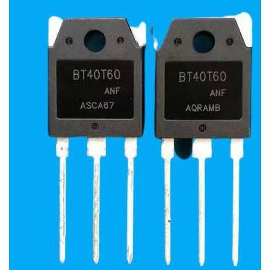 10 ชิ้น/ล็อตBT40T60 BT40T60ANF BT40T60ANFD  TO-03 40A600V IGBT อินเวอร์เตอร์เครื่องเชื่อม10 ชิ้น/ล็อตBT40T60 BT40T60ANF