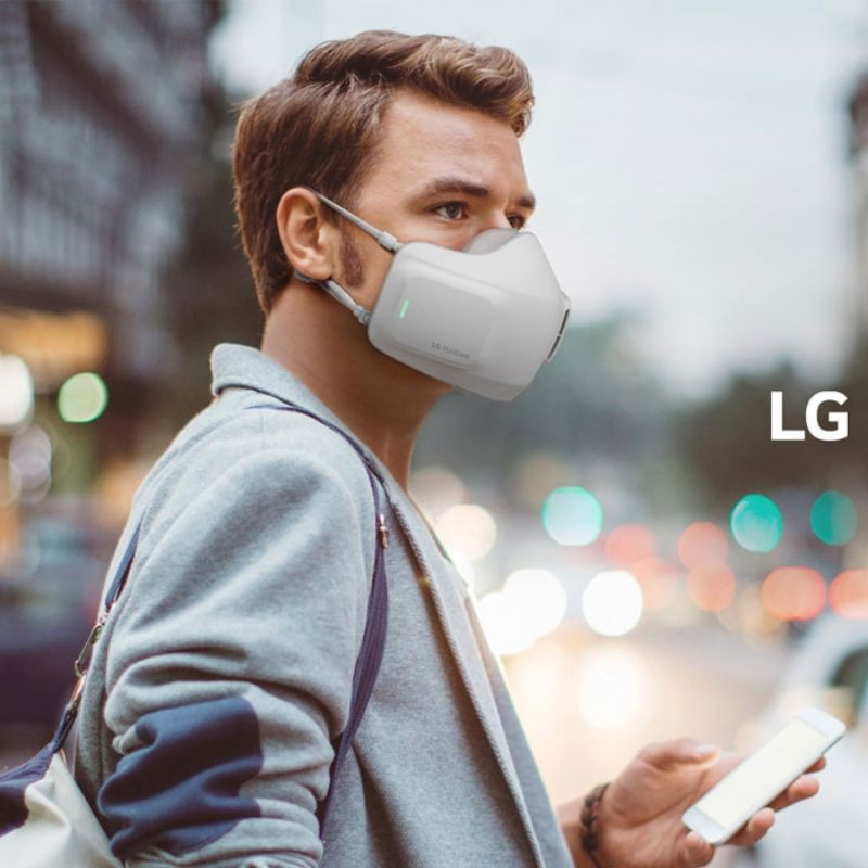 LG Puricare Air Purifier Mask