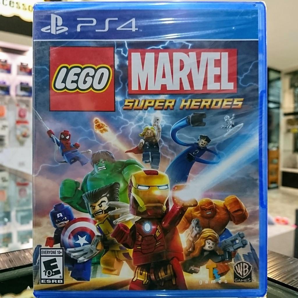 (ภาษาอังกฤษ) มือ1 Lego Marvel Super Heroes แผ่นเกม PS4 แผ่นPS4 (เล่น2คนได้)