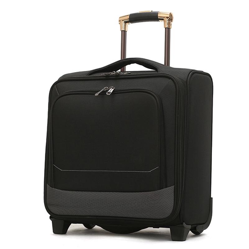 กระเป๋าเดินทางแบบมีล้อลาก 16 นิ้ว