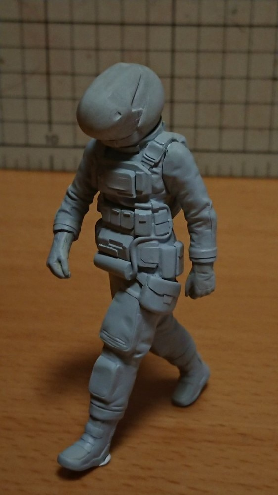 Resin Figure Kit 1/20 MA.K Female Astronaut Unpainted Garage Resin Kit