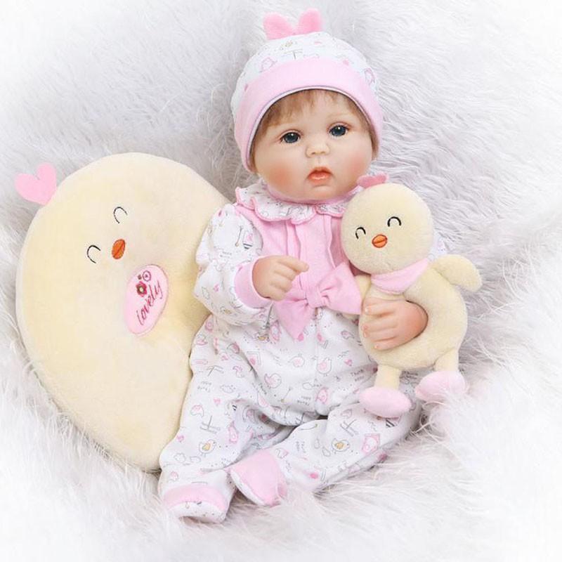 "75cm//30/"" Handmade Vinyl Silicone Reborn Baby dolls Lifelike Doll Toys Gift Girl"
