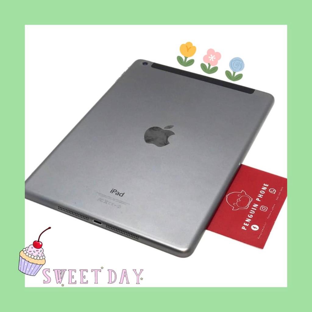 iPad Air 1 16GB Cell สี Space Gray มือสอง สภาพ 97% [ไอแพด ไอแพดมือสอง ไอแพดราคาถูก iPad iPadมือสอง มือ2 ราคาถูก]