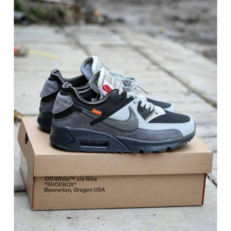 Nike Airmax 90 Offwhite รองเท้าผ้าใบลําลองสีขาวสี