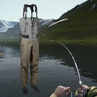 Waterproof Breathable Chest Waders Pants Premium Fishing Gear Manufacturers Dry  Apparel Shorty Wet suit for Fishing & H