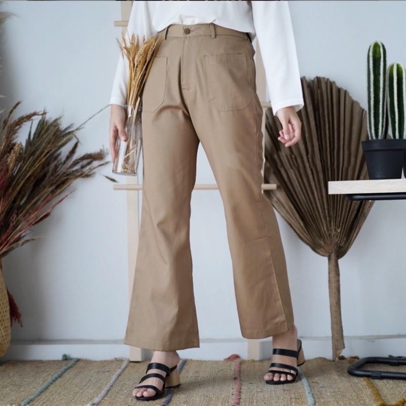 Azza กางเกงขายาวสตรี