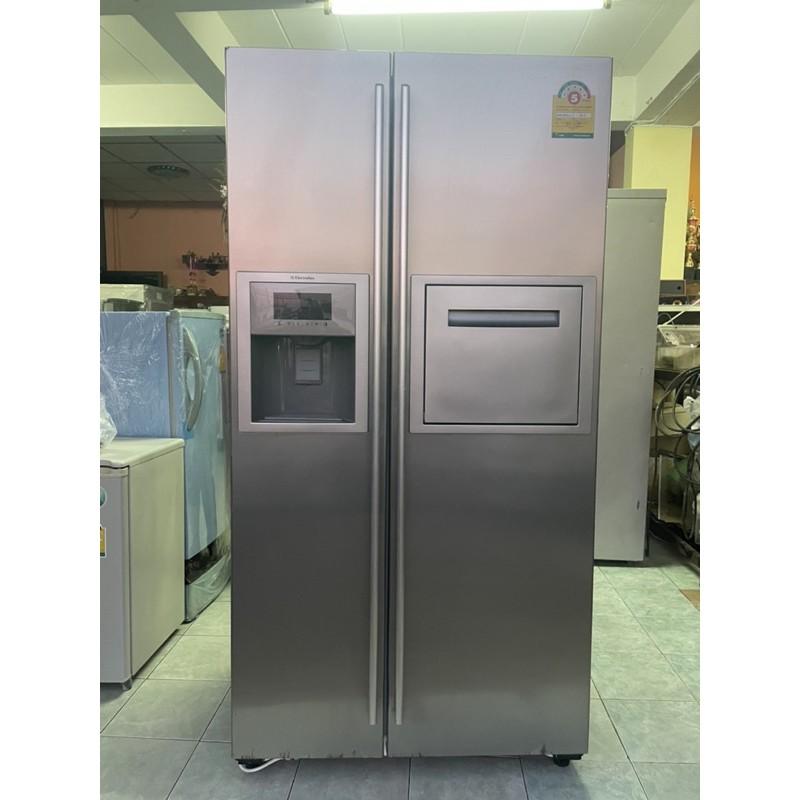 ตู้เย็นมือสอง Side by side20คิวมีประกันพร้อมใช้งาน