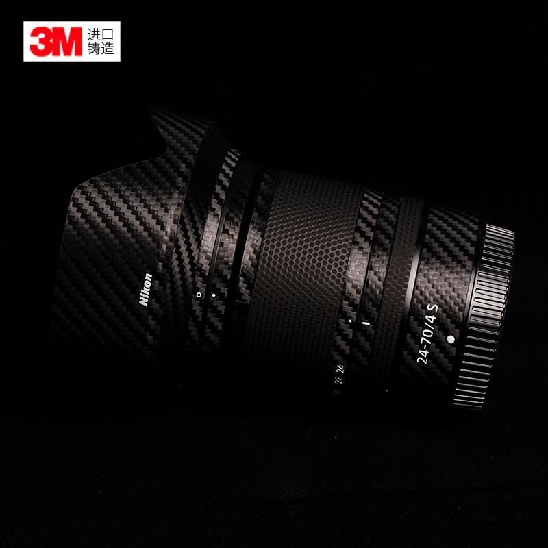 สติกเกอร์ฟิล์มกันรอย Nikon Z 24-70F2.8S Nikon 2470 2.8 รวมทุกอย่างสติ๊กเกอร์คาร์บอนไฟเบอร์ 3M