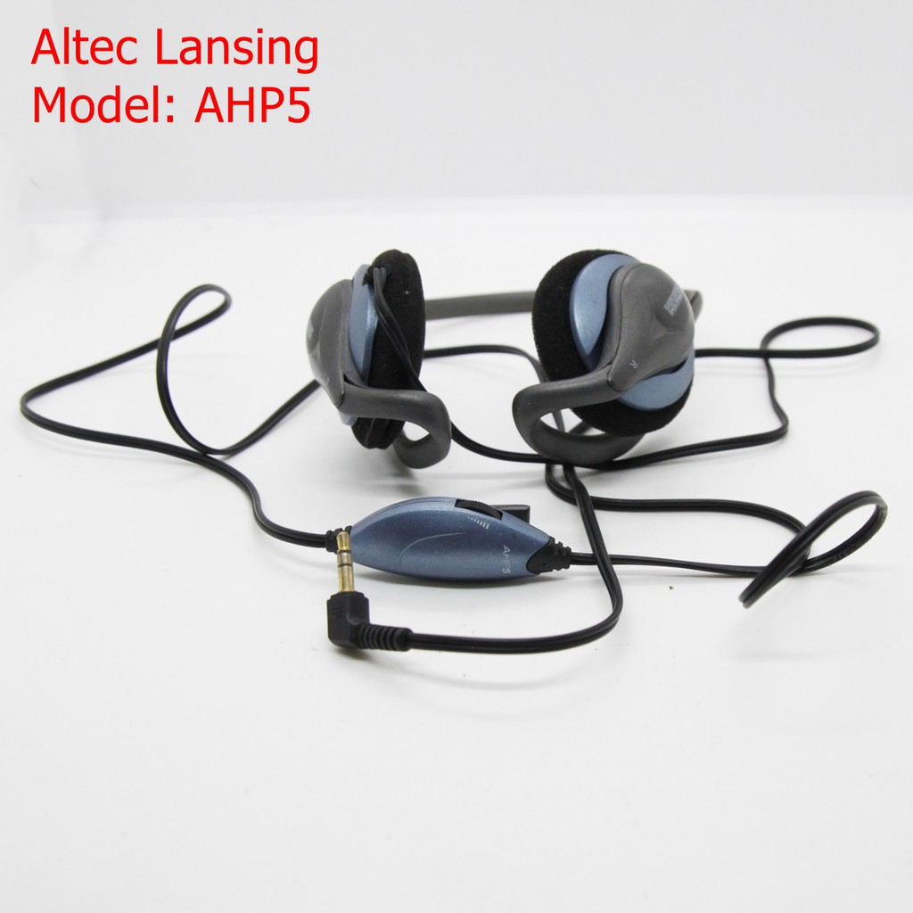 Altec Lansing AHP5 Personal Audio Stereo Headphones