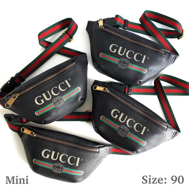 New! Gucci Belt bag mini size90 คาดอก คาดเอวได้หมดจ้า ❌24,999❌