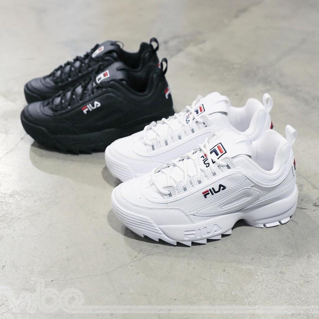 Fila DISRUPTOR 2 รองเท้าวิ่งสำหรับผู้ชายและผู้หญิง