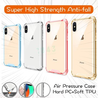 Review Hard PC+Soft TPU Super High Strength Anti-fall Clear Case for iphone 6 6s 6plus 7 8 7plus x xs xr xsmax 11 11promax