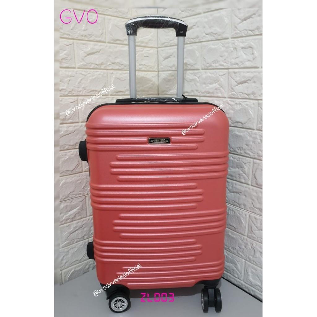 กระเป๋าเดินทางไฟเบอร์ Abs 24 นิ้ว Zl003 Can Gojek, Sturdy