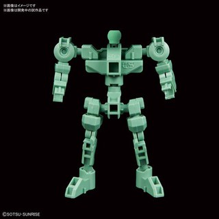 Review SDCS Frame Red, SD Gundam Cross Silhouette Frame (Green)