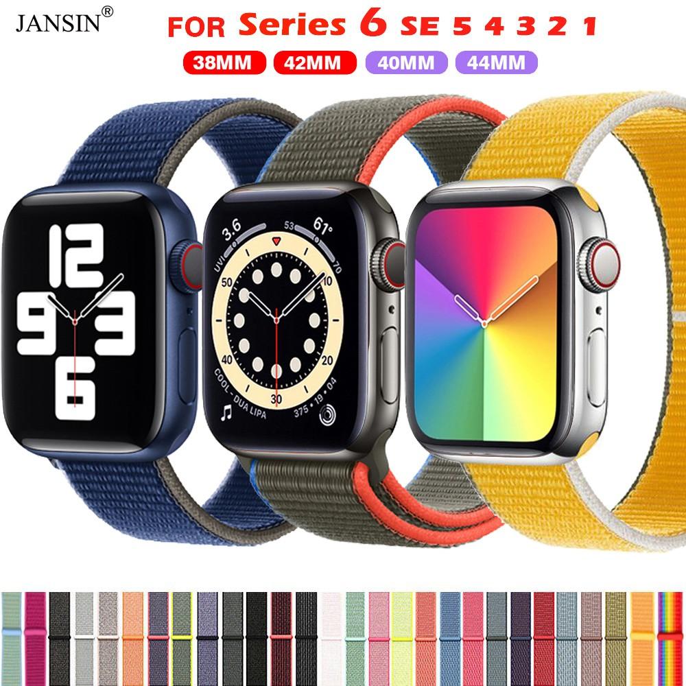 สายนาฬิกาข้อมือ สำหรับ Apple Watch iwatch 6 SE 5 4 3 2 1 ขนาด 42 มม 38 มม 40 มม 44 มม applewatch สาย