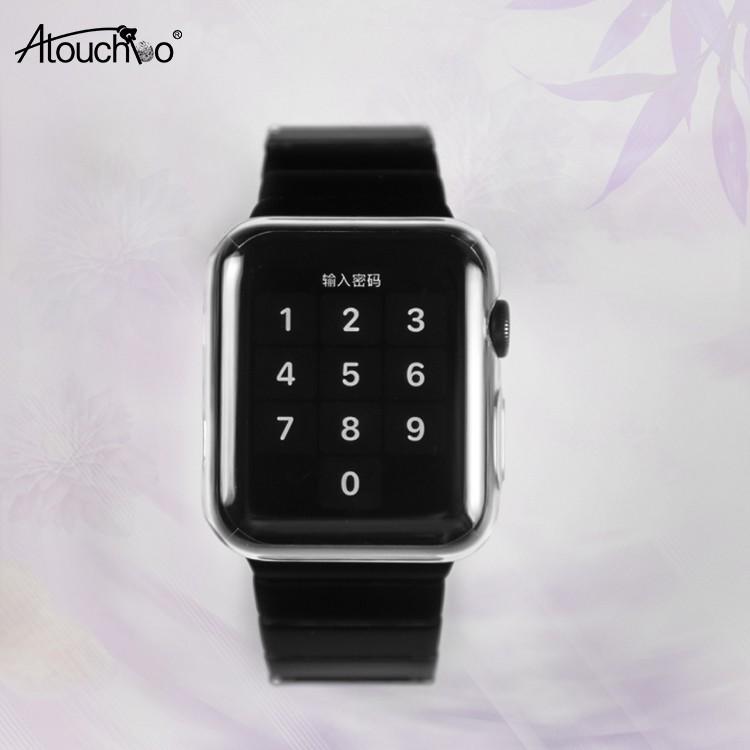 นาฬิกาสำหรับ Apple Watch Series 5 4 3 2 กรณี 42mm 38m 40mm 44mm Slim TPU Case สำหรับ iWatch 4 44 มม.