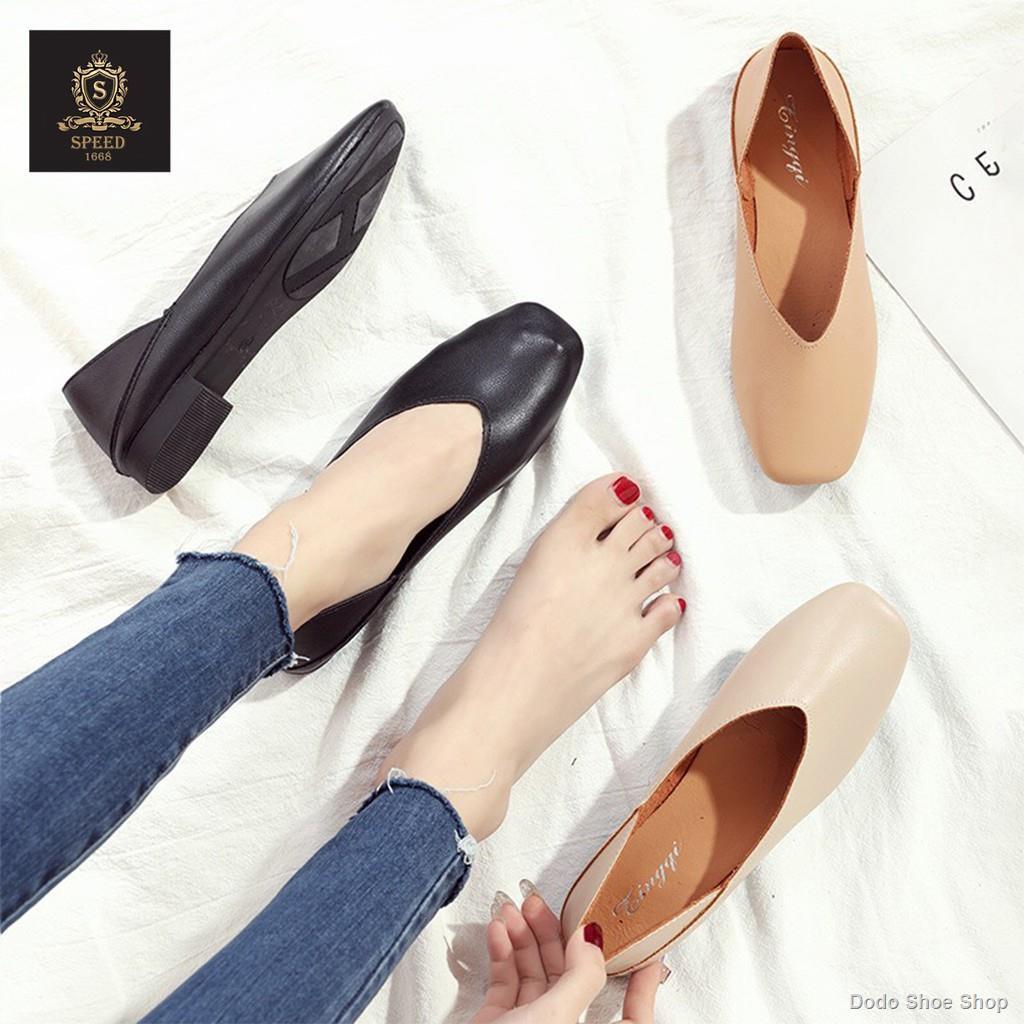 ขายร้อน💐😁รองเท้าคัชชู รองเท้าใส่ทำงาน รองเท้าคัชชูผู้หญิง