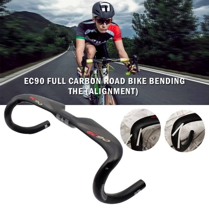 Full Carbon Fibre 3K 7° MTB Mountain Road Bike handlebar Bar Stem 31.8*60-130mm