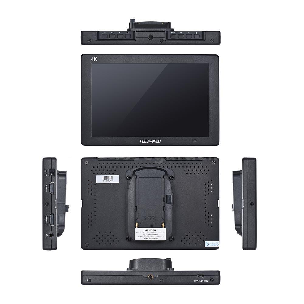 T 7 7 1920x1200 Ips On - กล้องมอนิเตอร์ 4k Hd สําหรับกล้อง Canon Nikon Sony Dslr
