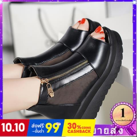 ⭐👠รองเท้าส้นสูง หัวแหลม ส้นเข็ม ใส่สบาย New Fshion รองเท้าคัชชูหัวแหลม  รองเท้าแฟชั่นรองเท้าแตะผู้หญิงใหม่รองเท้าส้นสูงล