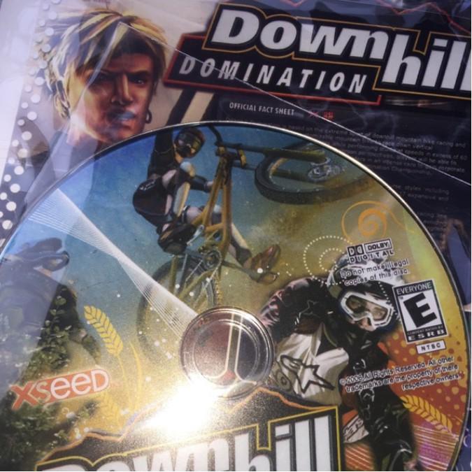 NAT อุปกรณ์เกมส์ แผ่นเกมส์เพลย์ แผ่นเกมส์ PC Downhill เครื่อง ps2