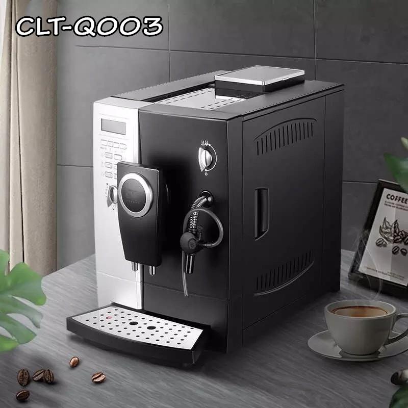 เครื่องชงกาแฟอัตโนมัติ CLT-Q003 เครื่องชงกาแฟพร้อมทำฟองนม สินค้าพร้อมส่ง.