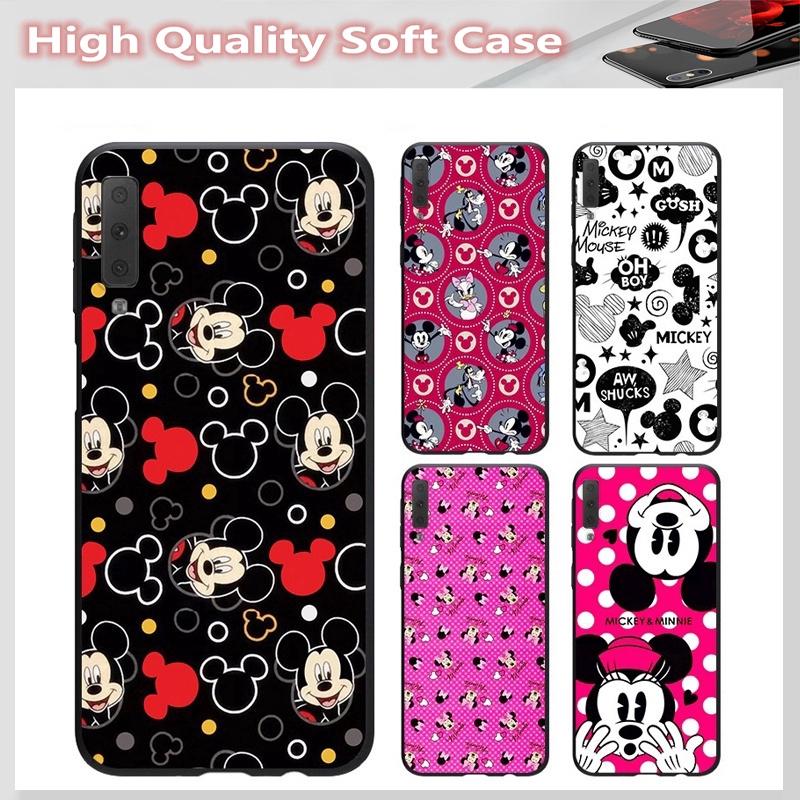 casing for SAMSUNG A2 CORE J7 Pro J7 PLUS A6 A6+ A7 A8 A8+ A8 Star A9 2018 Cover Cute Mickey Soft Case