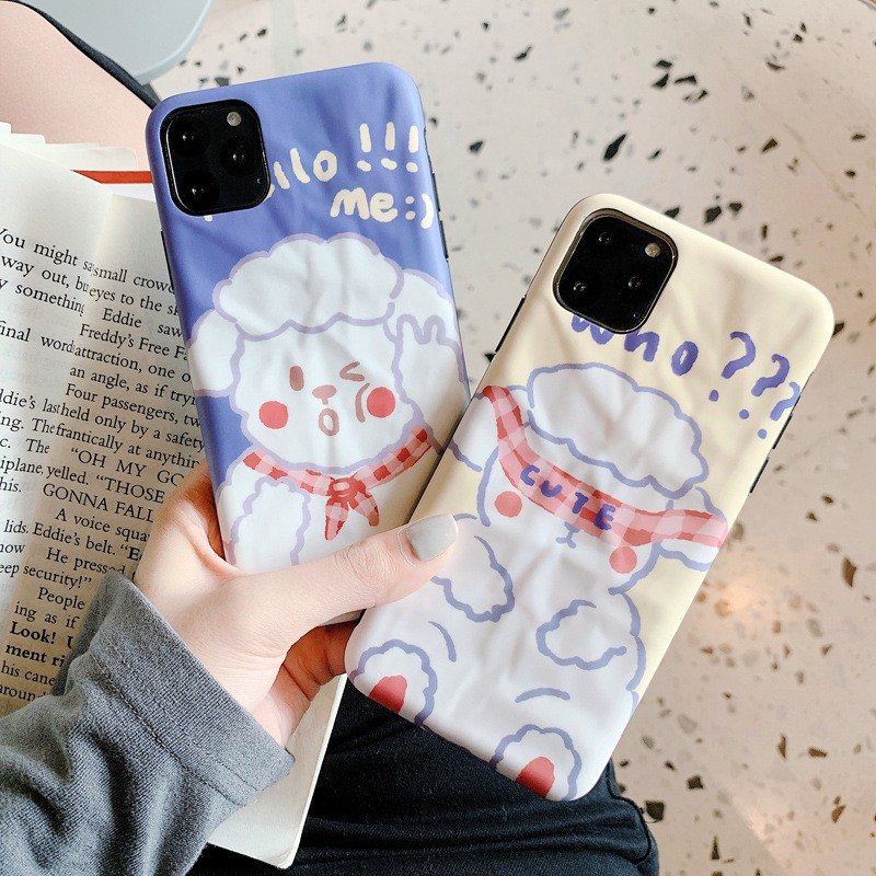 Origami Little Sheep 11Pro max Apple XR mobile phone case for iphoneXSmax/8plus cute soft shell