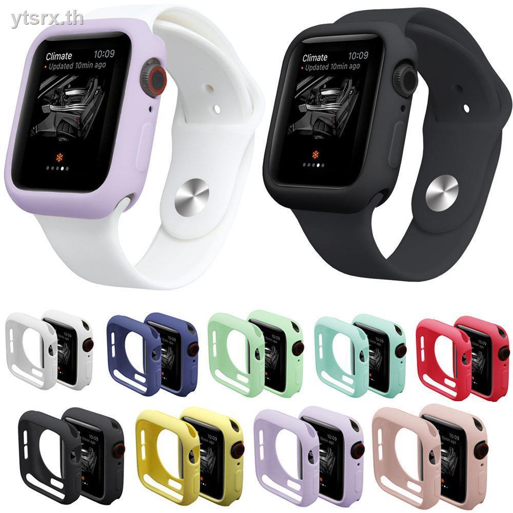 เคสนาฬิกา Apple Watch เคส Apple Watch Caseพร้อมส่งจากไทย เคส Apple WatchApple watch protective cover 5th generation case iPhone watch3 silicone iwatch5 soft