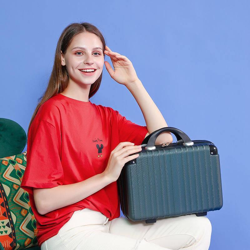 กระเป๋าเดินทาง กระเป๋าใส่เครื่องสำอาง 14 นิ้วกระเป๋าถือมินิน่ารัก 16 นิ้วน้ำหนักเบากระเป๋าเดินทาง 12 นิ้วกระเป๋าเดินทางข