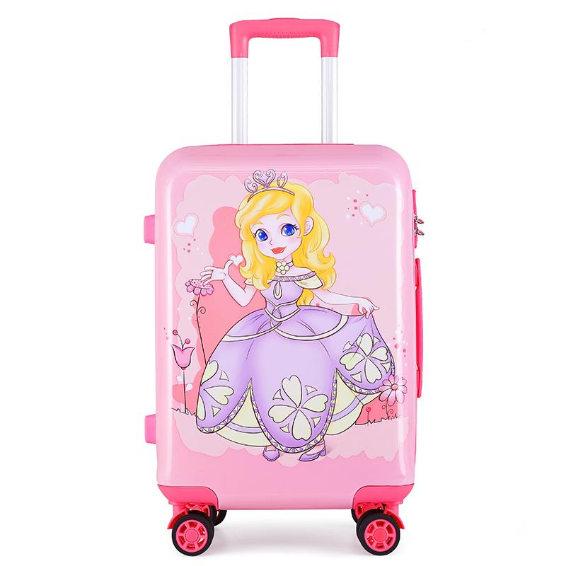 ☓≌ กระเป๋าเดินทางล้อลากใบเล็ก กระเป๋าเดินทางล้อลากดิออร์ควีนของแท้ร้านรถเข็นเด็กล้อสากลเด็กชาย18หญิง20นิ้วกระเป๋าเดินทาง