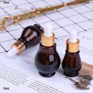 Review 10 20 30ml Amber Glass Dropper Bottle essential Oil Perfume Bottles Empty
