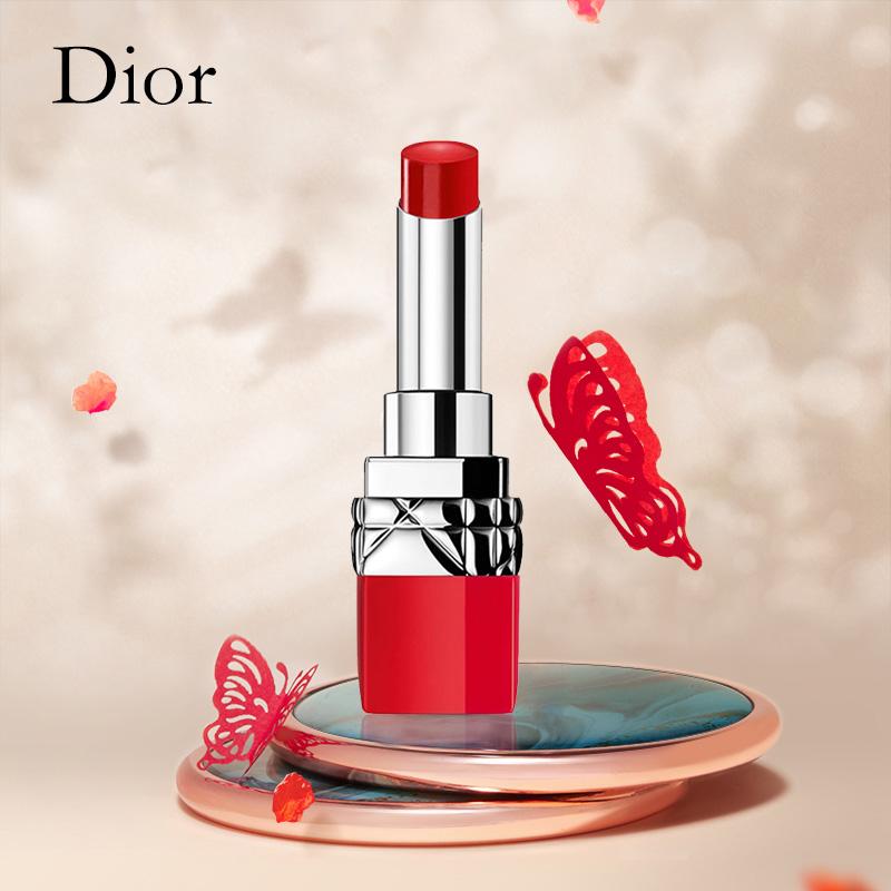◍㍿💯 🔥ลิปสติกเนื้อลิขวิดให้ความชุ่มชื้นกันน้ําติดทนนาน 1 ชิ้น🔥.💯Dior Dior Lipstick Lipstick Moisturizing 999 Matte 88