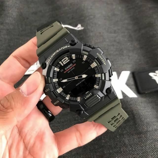 Casio Hdc-700-3a นาฬิกาข้อมือ - แบบดั้งเดิม