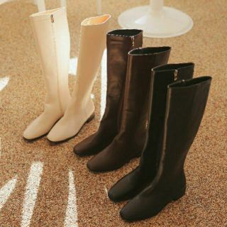 FLAT2112 HH42 : TIMELESS WINTER KNEE-HIGH BOOTS