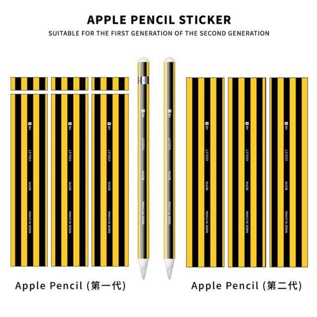 ❤️ของครบ 45 ลาย❤️ สติ๊กเกอร์ Apple Pencil Case Stickers ลายน่ารักๆ ลาย 21-43 แบ๊วๆ ยูนิคอร์น หัวใจ สีชมพู